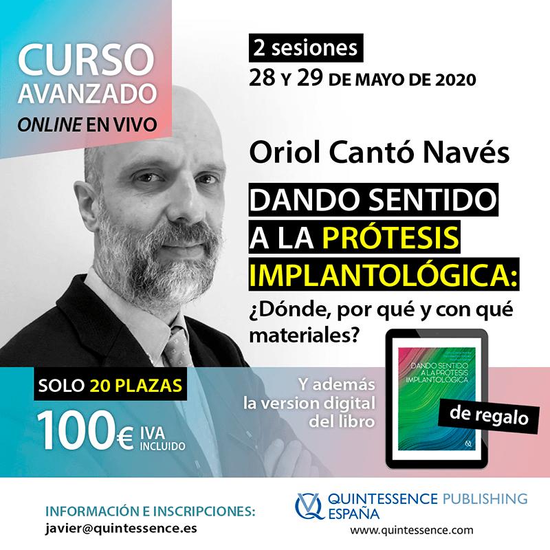 Curso Oriol Cantó Navés
