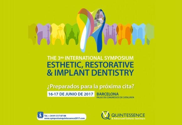 Quintessence organiza el 3rd Symposium Esthetic Restorative & Implant Dentistry